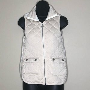 Abrercrombie & Fitch Fleece Lined Quilted Vest